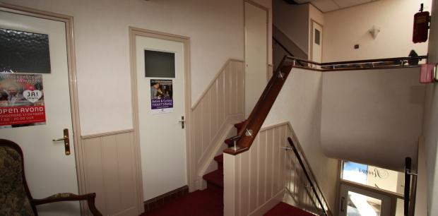 Trapopgang boven
